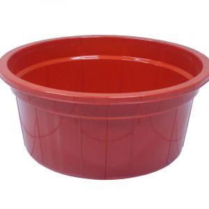 Baskom 65 cm PT Golgon warna merah