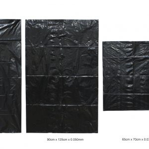 Plastik sampah Greenplas PT Golgon warna hitam