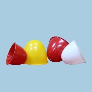 Mangkok Getah Karet Warna-Warni PT Golgon